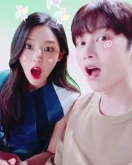 「SJ」キム・ヒチョル&「AOA」ソリョン、キュートな動画で仲良しをアピール♪