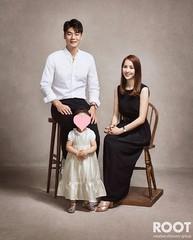 ハン・ヘジン♡キ・ソンヨン夫婦の美しすぎる家族写真が話題!