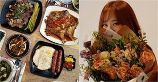女優ソ・ユジン、夫ペク・ジョンウォンの誕生日に豪華な手料理を振舞う♪