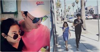 「Epik High」Tabloと愛娘のハルちゃん、そっくりすぎるツーショット写真を公開!