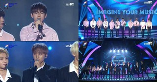 「第1回Soribada Best K Music Awards」、新人賞受賞の「PENTAGON」&「WANNA-ONE」のコメント♪
