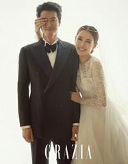 イ・ドンゴン、チョ・ユニと結婚式を挙げたことをファンページで伝える♪