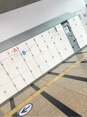 【韓国観光】 韓国コインロッカー(指紋認証型)を利用してみる in ソウル駅