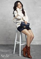 女優キム・ハヌル、優雅な秋のファッショングラビアを披露!