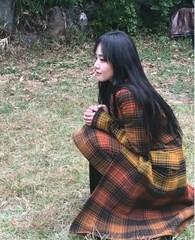女優ムン・グニョン、秋の女神で登場!横顔の美しさが光る。