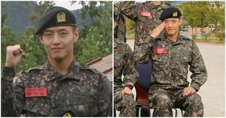 俳優カン・ハヌル、陸軍訓練所での近況写真が公開される!