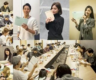 キム・レウォン×シン・セギョンの新ドラマ「黒騎士」の台本リーディングが行われる!