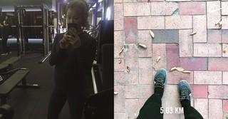 女優イ・シヨン、妊娠9か月でも変わらぬスリムな体型を見せる!?