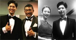 秋山成勲&SHIHO夫妻、「2017MAMA」のステージで俳優パク・ボゴムに出会う!