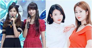 歌手IU、親友ユ・インナとソルリのために作った曲がある!?~美しい友情~