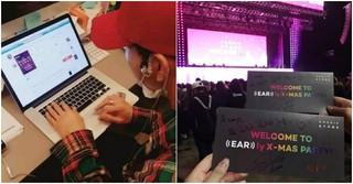 公演のチケッティングに自ら参加し、ファンに手渡したアイドル!?