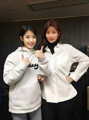 """歌手IUのコンサートを訪問した""""冬ソナ""""女優パク・ソルミ♪""""ずっとずっと応援しています"""""""