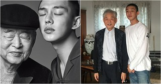 """俳優ユ・アイン、""""朝鮮琴の名人""""故ファン・ビョンギ先生を偲ぶ。"""