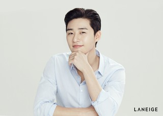 俳優パク・ソジュンがコスメブランド「LANEIGE HOMME」の新モデルに抜擢♪