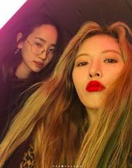 「Wonder Girls」の友情・・・イェウン&ヒョナは、一緒にデビューし11周年♪