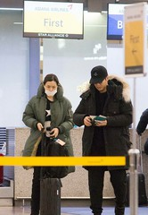 ユン・ゲサン&イ・ハニ、バレンタインは札幌デートを楽しむ♪