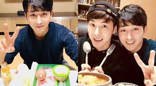 俳優ソン・ホジュンが「東方神起」ユンホのために手料理をふるまう♪