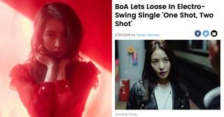 歌手BoAの新譜「ONE SHOT, TWO SHOT」にアメリカビルボードも大注目!
