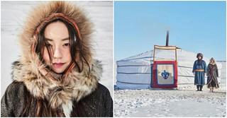アン・ソヒ&ヨン・ウジンがモンゴル遊牧民に変身!映画「アノとホイガ」。
