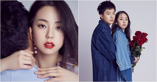 短編映画「アノとホイガ」で共演、アン・ソヒ&ヨン・ウジンのグラビア写真が公開!