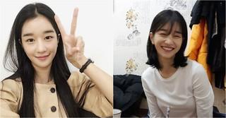 女優ソ・イェジがトレードマークのロングヘアーをバッサリ!!??