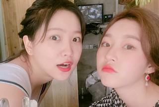 女優キム・セロン&「Red Velvet」イェリがバリ島へ友情旅行♪親友同士の2人旅。