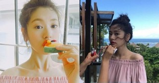 女優チョン・ソミンが果汁美炸裂の近況写真を公開!「MBLAQ」出身イ・ジュンの恋人。