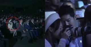 """俳優ソン・ジュンギ、""""BTSファン""""が持っていた大砲カメラに興味津々!?"""