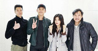 RAIN×イ・ドンゴン主演ドラマ「スケッチ」の台本リーディング現場が公開!