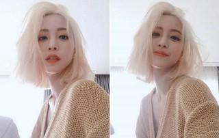 女優ハン・イェスル、破格的!?白金髪ヘアーにイメチェン!