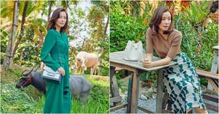 女優ソン・テヨン、一足お先に大人の夏ファッションを披露する♪