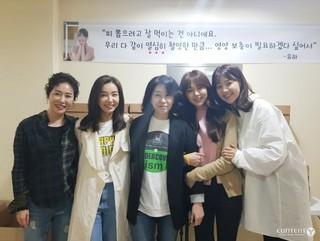 女優ハン・ジヘ、ドラマの大好評を受けキャスト&スタッフに温かいお弁当を届ける!