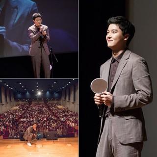 俳優ヨン・ウジン、日本での4度目のファンミーティングを大成功に終える!