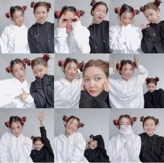 「少女時代」スヨン&ティファニー、今でも仲良し!カップルヘアスタイルで友情ショット公開