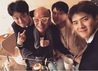 韓国芸能界一の人脈王!ホン・ソクチョン、「EXO」セフンとも知り合い。