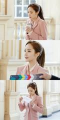 女優パク・ミニョン、ドラマ「キム秘書がなぜそうか?」の撮影中の姿が公開!