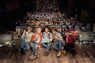 バンド「N.Flying」がデビュー後初めてのファンミーティングを開催!感謝の思いを伝える。