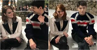 「EXO」セフンがエマ・ストーンと甘い視線を交わす!?