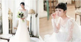女優チャン・ナラ、美しすぎるウェディングドレス姿を公開!