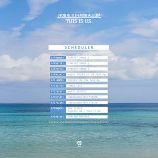 「BTOB」が6月18日にカムバック!16日には「CUBE」のファミリーコンサートにも出演!