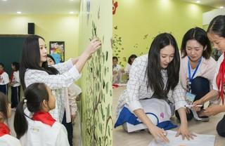 "「f(x)」クリスタル、中国の""子どもの日""に才能寄付活動を行う!"