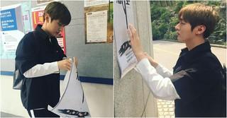 「WANNA-ONE」ユン・ジソン、学友のために演劇広報活動に乗り出す!?