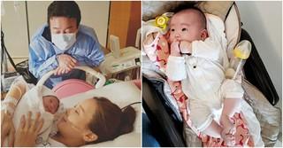 女優ソ・ユジン、第三子セウンちゃんの近況写真を公開♪