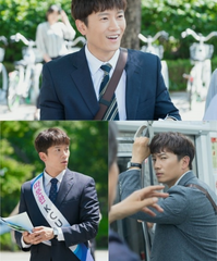 tvN新ドラマ「知ってるワイフ」チソン、現実感満点のサラリーマンに大変身!
