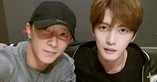 元「SMファミリー」、「SJ」出身のハンギョンがキム・ジェジュンを応援!
