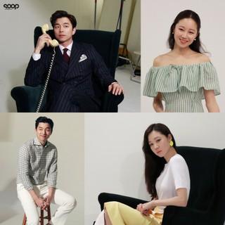 コン・ユ&コン・ヒョジン、息の合ったCM撮影ビハインドカットが公開!