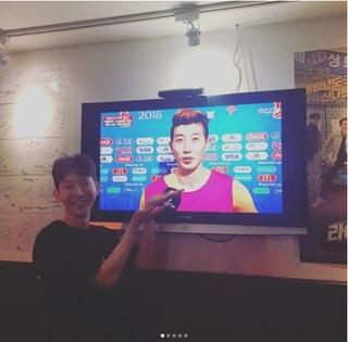 「2AM」チョグォン、サッカー韓国代表選手にそっくりで感謝される?!