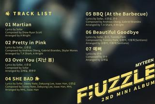 「MYTEEN」、2ndミニアルバム「F&#59;UZZLE」のトラックリストを公開!