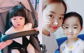 """女優ソ・イヒョン、愛娘2人と""""お人形さん""""のようなキュートな姿を公開!"""