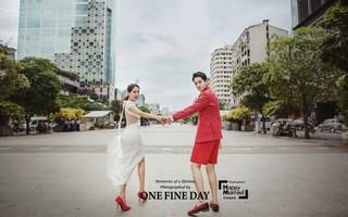 """結婚式""""D-2""""、ミナ&リュ・フィリップ夫婦がウェディンググラビアを追加公開!"""